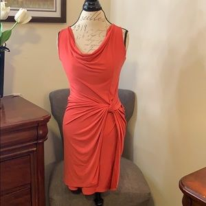 Flirty Orange Dress